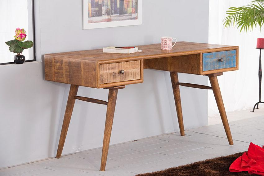 Solid Wood Country EVA Console Table