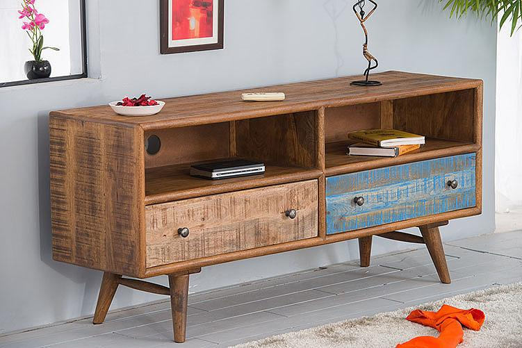 Solid Wood Country EVA Tv Unit Color