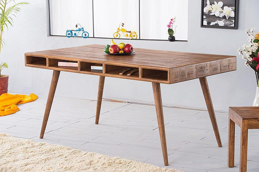Solid Wood Country Eva Dining Table