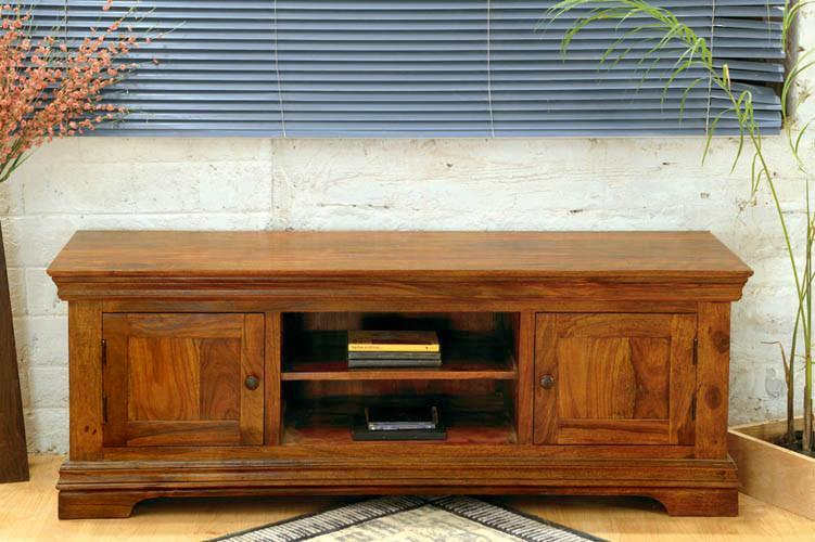 Solid Wood Bretton Plasma Tv unit