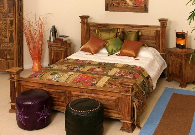 Maharaja Bed - Solid Wood Furniture Online , Buy Beds Online | Saraf