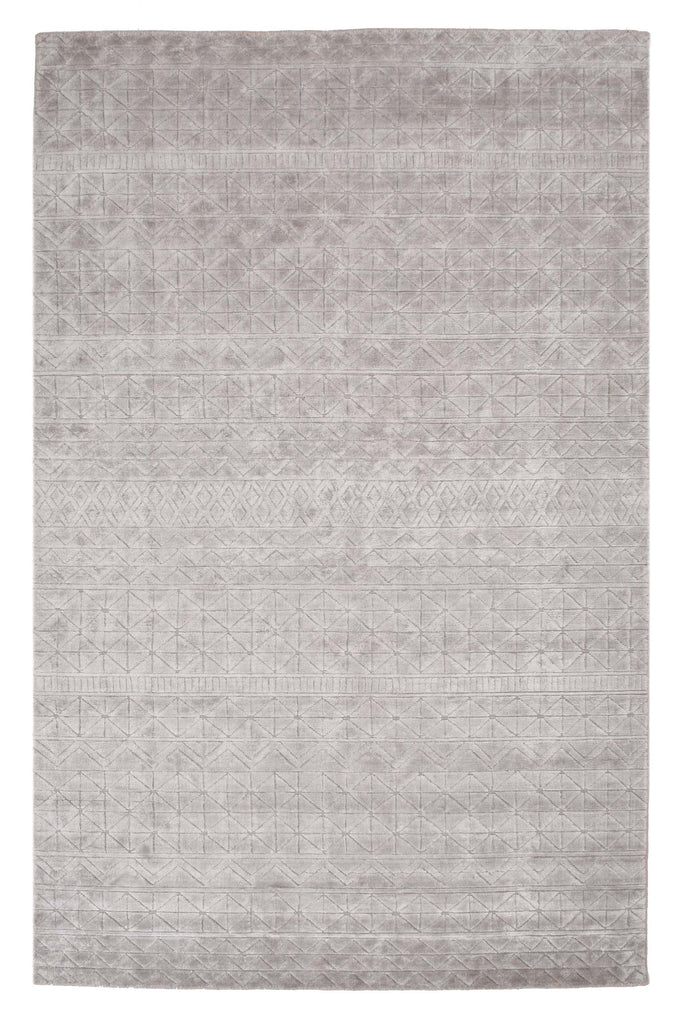 Hannah Wool & Viscose Handloom Jacquard Carpet 7.5 x 5
