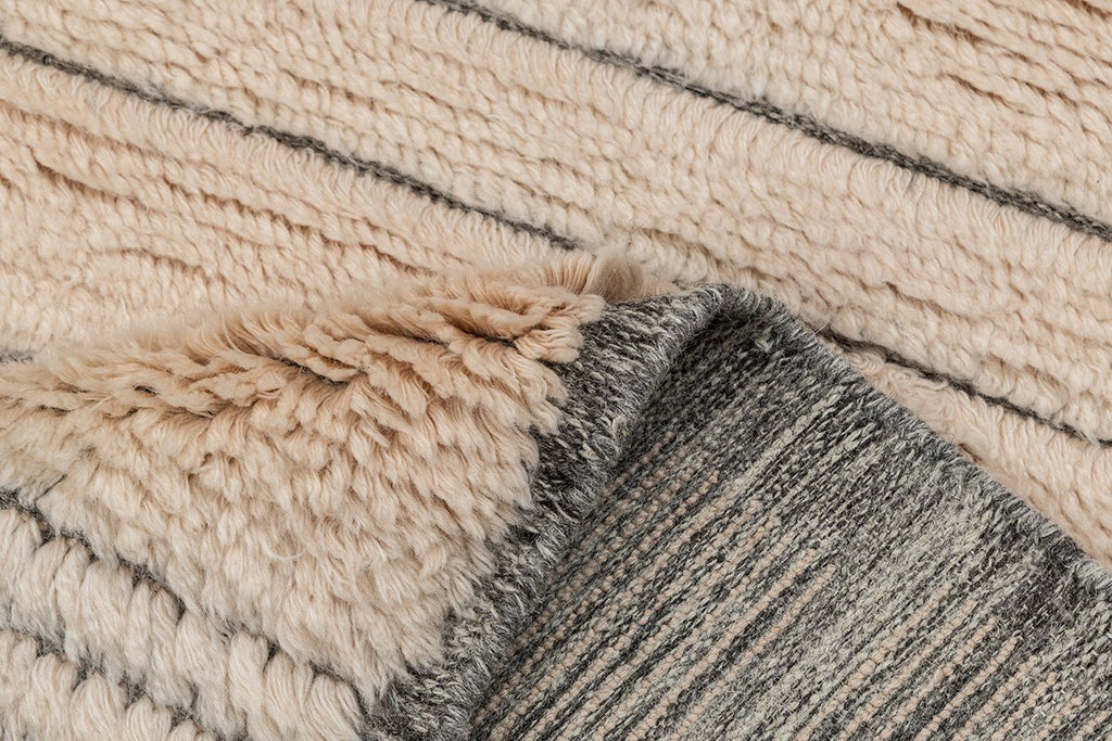 Breel New Zealand Wool & Cotton Hand Knotted Premium Carpet