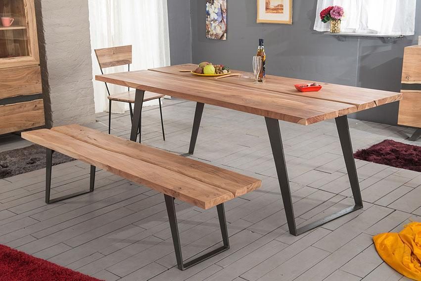 Solid Wood Indiana Tabby Dining Table