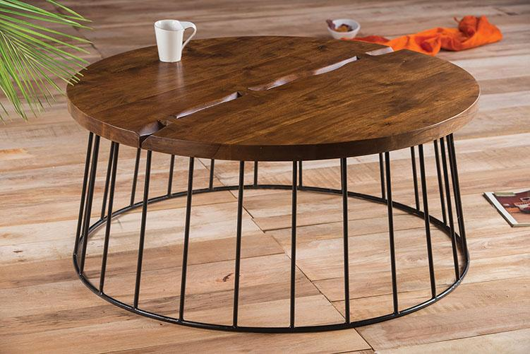 Solid Wood Burrow Coffee Table