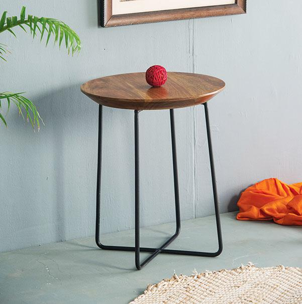Solid Wood Stool