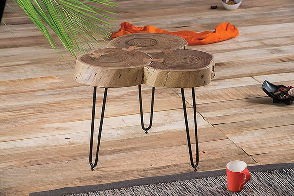 Solid Wood INDIANA TRIO Lamp Stool