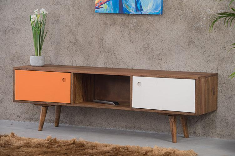 Solid Wood EVA Tv Unit Color
