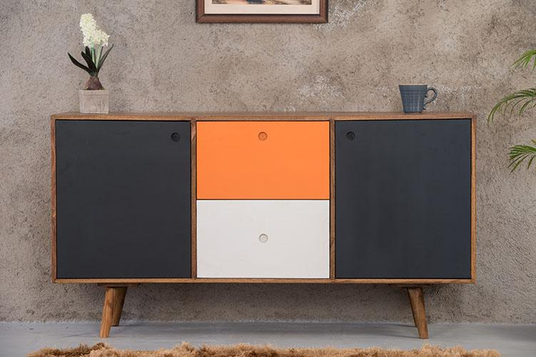Solid Wood EVA Sideboard Color