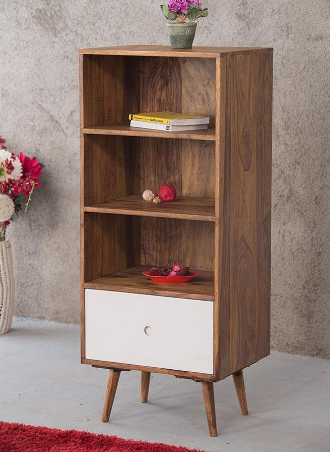 Solid Wood EVA Bookcase