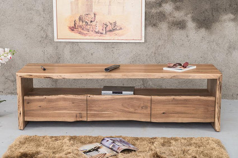 Solid Wood INDIANA Thar Tv unit