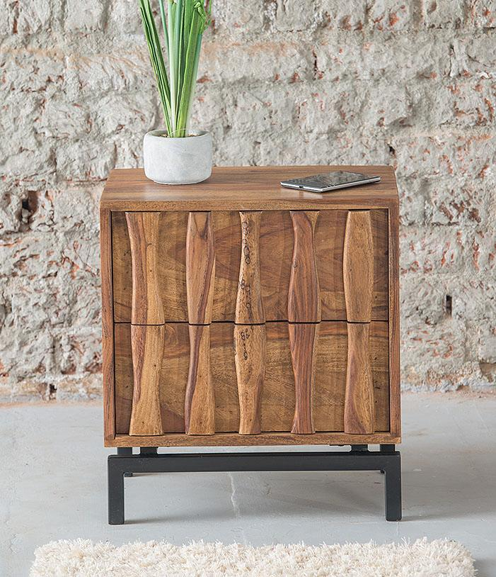 Solid Wood MADWAY Bedside Table