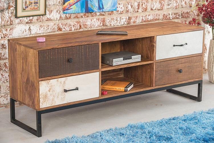 Solid Wood Wildress Tv unit