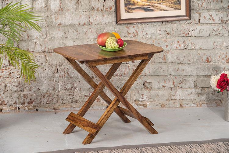 Solid Wood Folding Stool