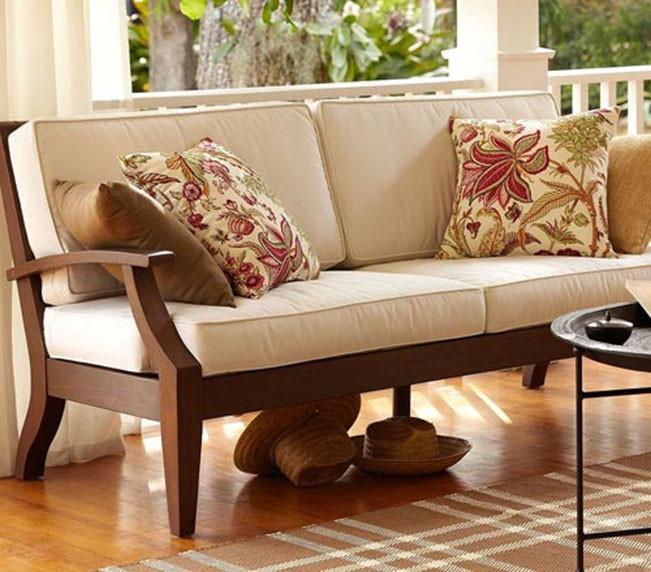 Solid Wood Mayor Sofa Set