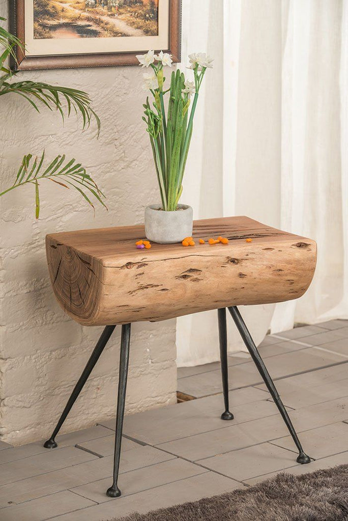 Solid Wood Indiana Rocket Stool