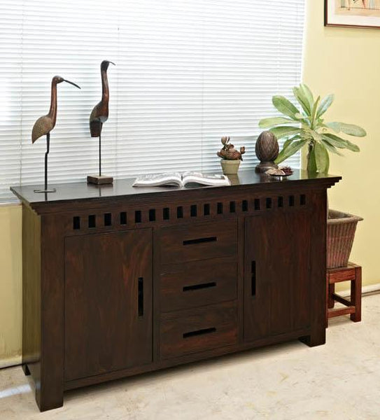 Solid Wood Kuber Sideboard
