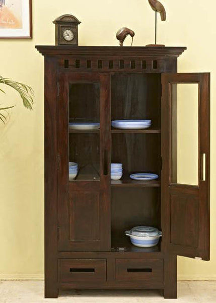 Solid Wood Kuber Kitchen Cabinet