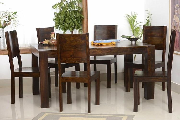 Romeo Solid Wood Dining Set