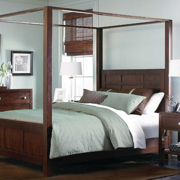 Solid Wood Poster Bed Romeo