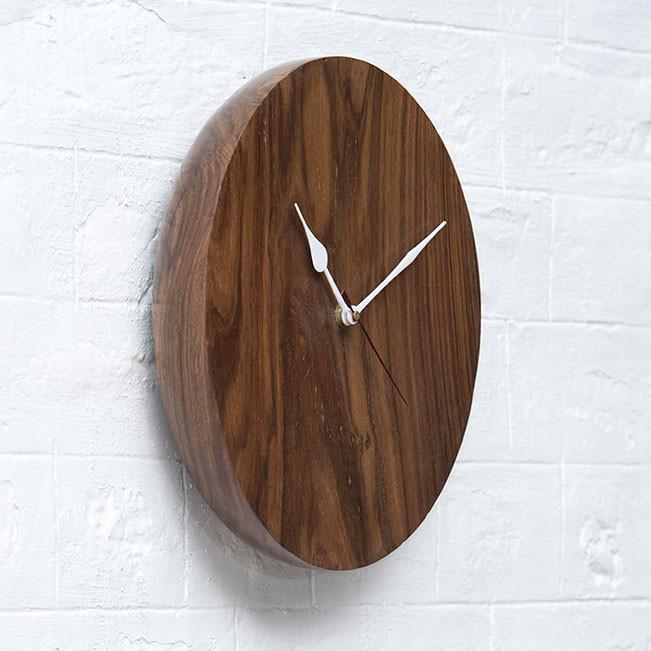 BOLT - Solid Wood Clock