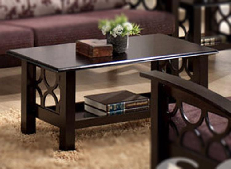 Solid Wood Criss Coffee Table