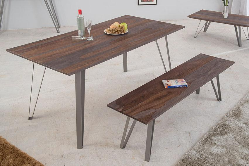 Solid Wood INDIANA Tica Dining Table