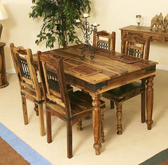 4 Seater Set (Table + 4 Chairs)