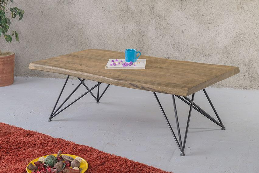 Solid Wood Indiana Triveni Coffee Table