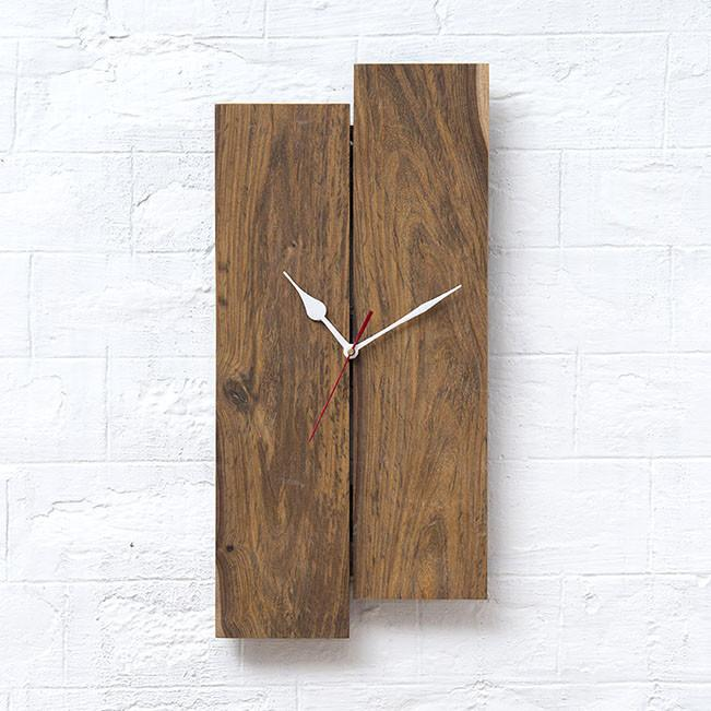 LAYON - Solid Wood Clock