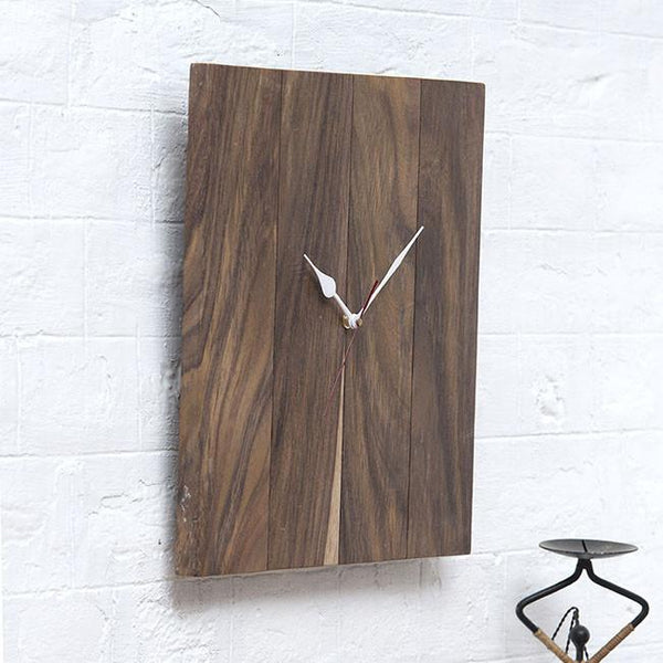 FIST - Solid Wood Clock