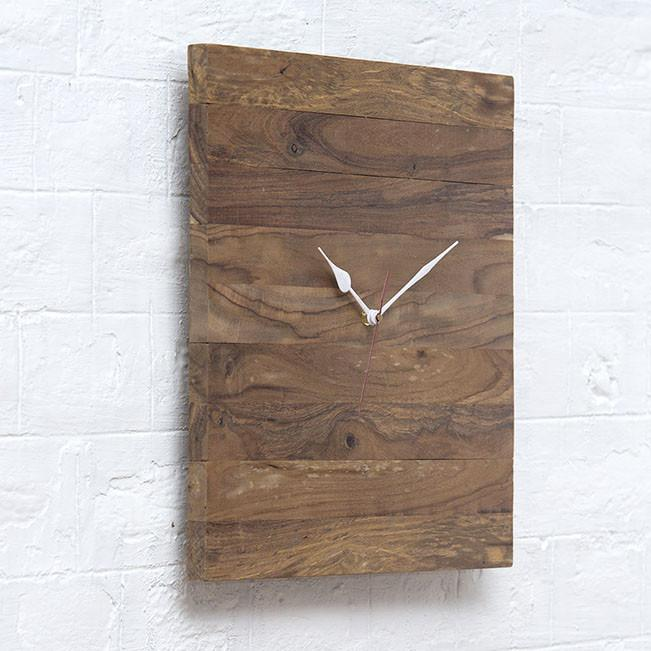 CLUST - Solid Wood Clock