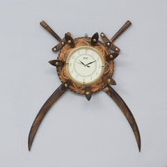 SWORD - Solid Wood Clock