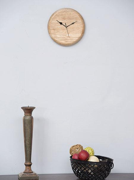 DRUM Light - Solid Wood Clock
