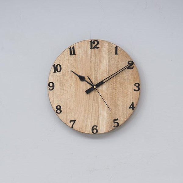 DIVE Gure - Solid Wood Clock