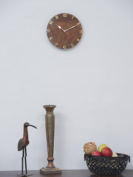 MELLOW Gure - Solid Wood Clock