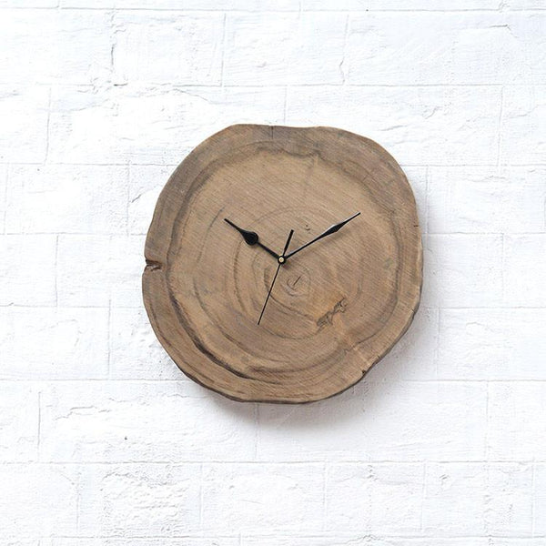 INDIANA - Solid Wood Clock