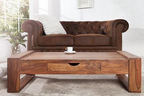 EXTRA 10% OFF Solid Wood Chester Coffee Table