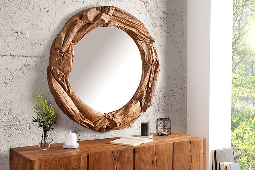 Solid Wood Indiana Mirror