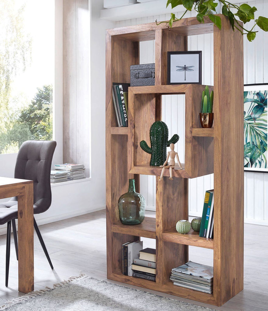 Solid Wood Multi-unit Bookcase