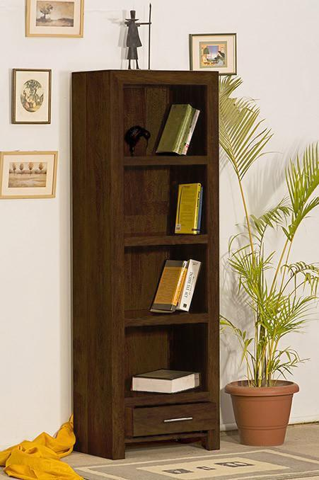 Solid Wood Cube Petite Bookcase