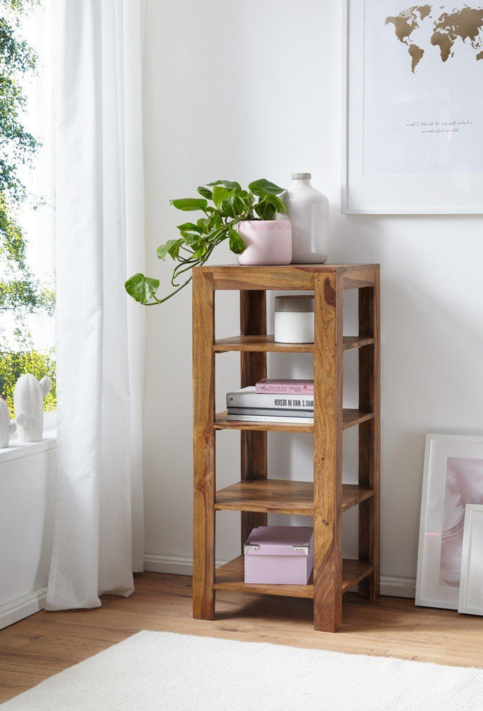 Solid Wood Charlie Corner Bookcase