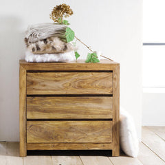Solid Wood Voted Chest of Drawers