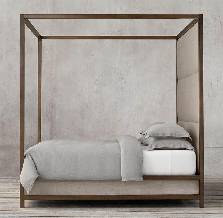 Solid Wood Poster Bed Imperia