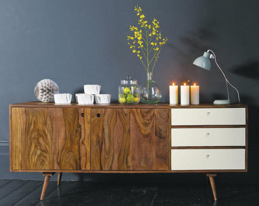 Solid Wood EVA Sideboard