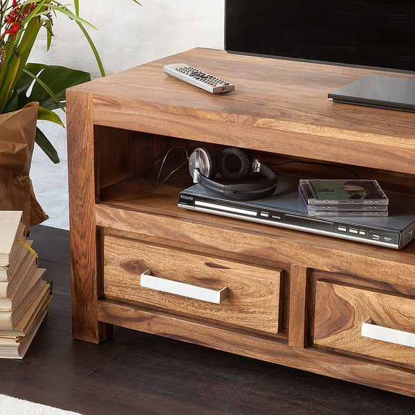 Solid Wood Port Plasma Tv unit
