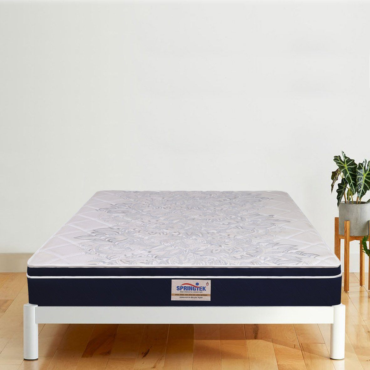 Picture of: Buy Top Luxe Memory Foam Pocket Spring Mattress Saraf Furniture Saraf Furniture