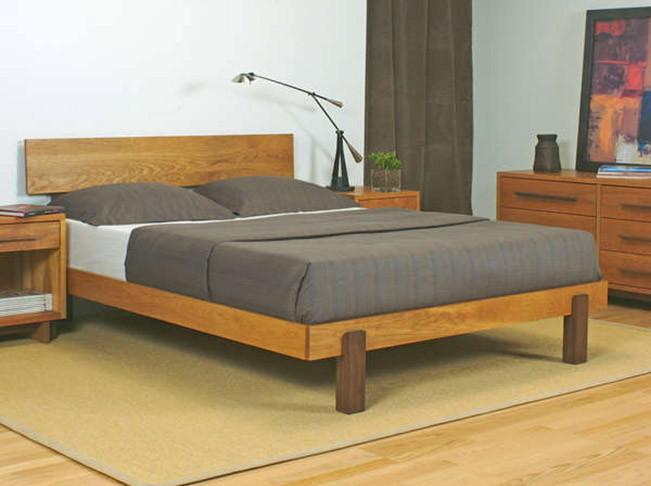 Solid Wood Cubex Bed