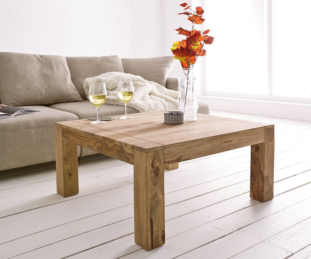 Solid Wood Romeo Sqaure Coffee Table