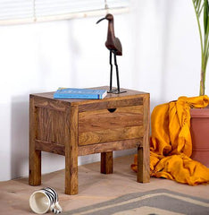 Solid Wood Durban Bedside Table